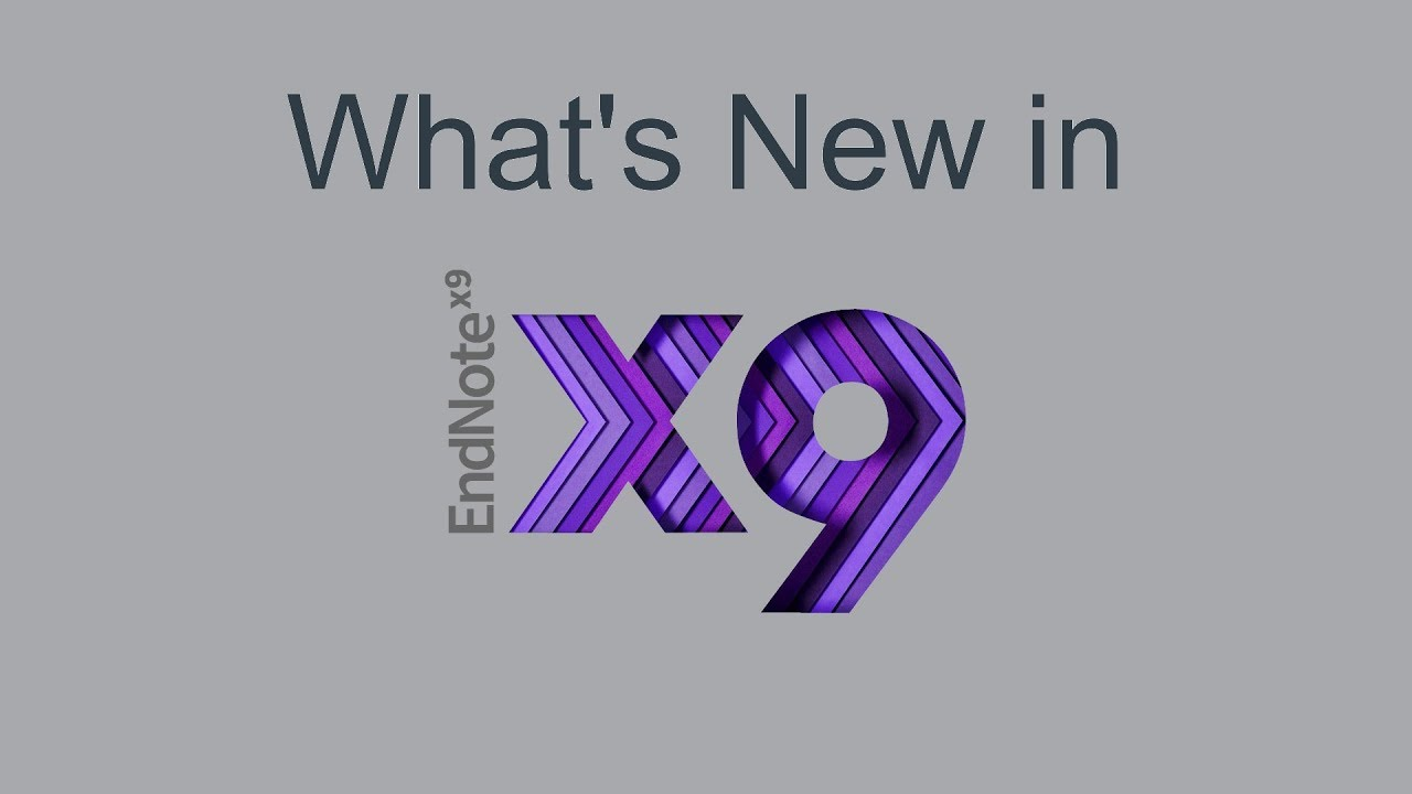 EndNote X9