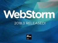 WebStorm 2018.3