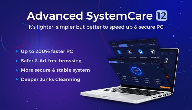 Advanced SystemCare Pro 12.2.0.226 Crack