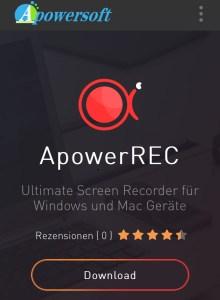 Apowersoft ApowerRec 1.3 Crack