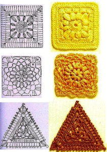 Crochet Coaster Pattern Graph