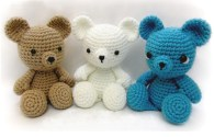 Crochet Stuffed Animals: See Free Crochet Bear Tutorial Amigurumi