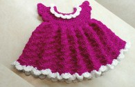 Free Crochet Baby Dress Video Tutorial – Newborn Crochet