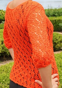 Free Knitting Pattern Blouse: take your yarn and see the tutorial