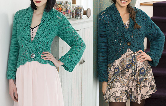Free Pattern to make a Crochet Cardigan - Easy (PDF Instructions ...