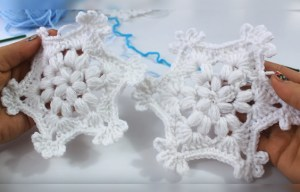 Christmas ornament - How To Crochet a Snowflake Free Tutorial