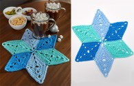 Star Table Mat Coasters – Crafts With Free Pattern Written