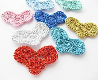 Heart Motif Crochet Pattern | Step by Step