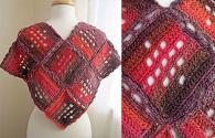How To Make Diamond Mine Shawl Crochet Free Pattern | PDF Download