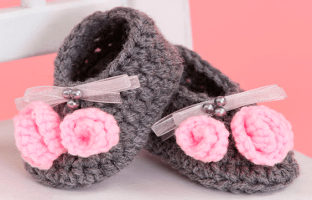 Little Miss Baby Shoe Clothes Free Pattern