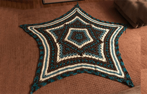 Star Kaleidoscope Afghan | Blanket Pattern PDF Download