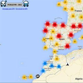 Mapa Furgoperfecto Free Cultural Spaces