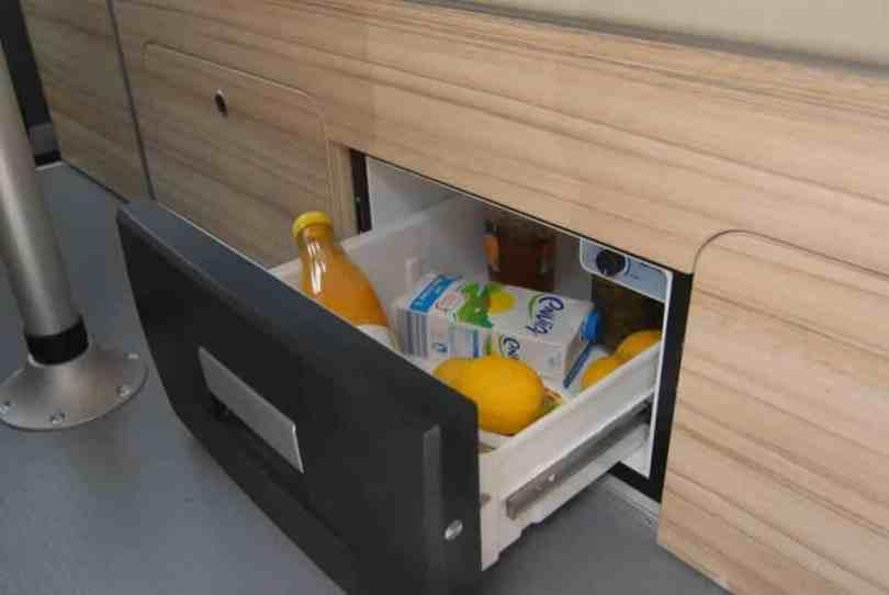 frigo-van-amenage Le bon aménagement pour votre van