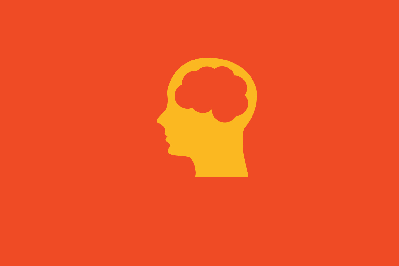 Brain trauma illustration