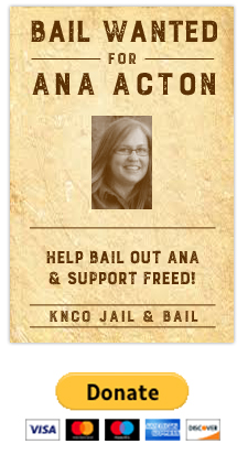 Bail wanetd: Ana Acton