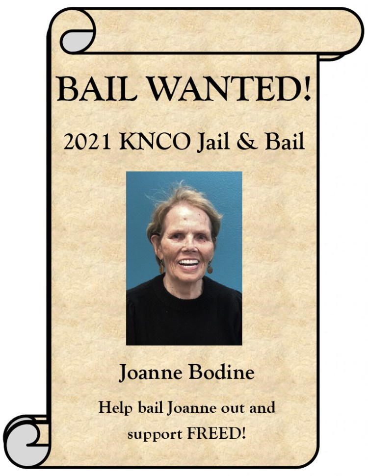 Joanne Bodine Wanted poster