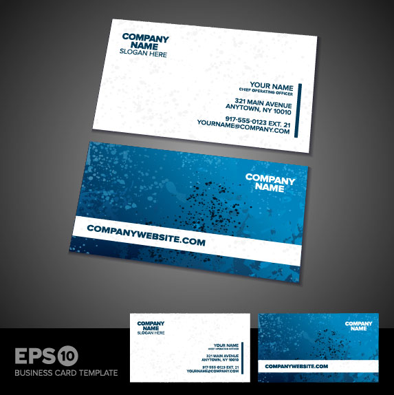 Business Card Templates Vector 01 Free Download