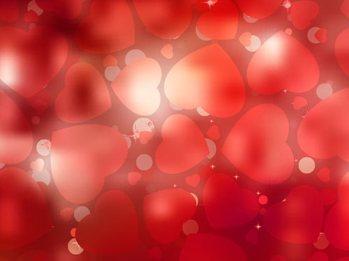Bright Valentine Day Card Background Vector 04 Free Download