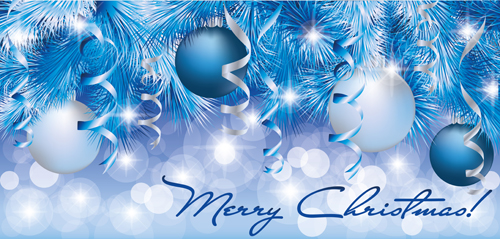 Shiny Christmas Style Banner Design Vector 01 Free Download