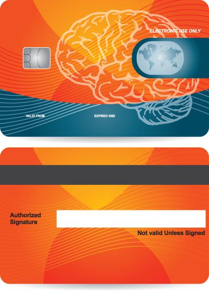Creative Credit Card Design Vector 01 Free Download