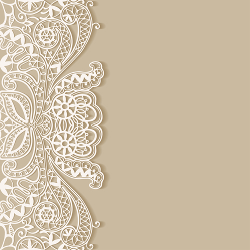 Burlap Downloadable Banner Background Lace And