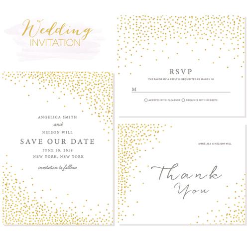 Elegant Wedding Invitations Creative