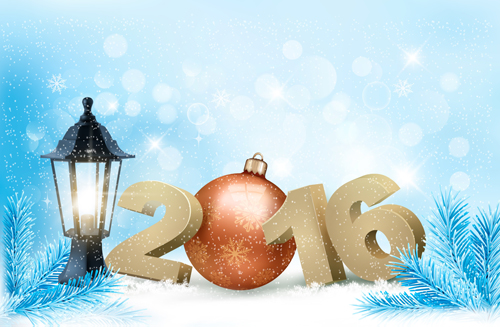 winter new year backgrounds