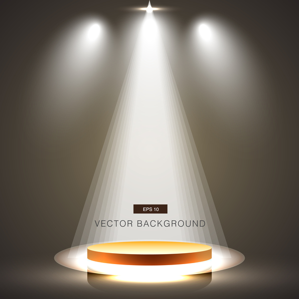 White Spotlight With Studio Background Vector 03 Vector Background Free Download