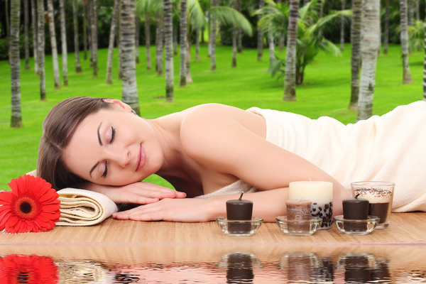 Do spa massage woman HD picture