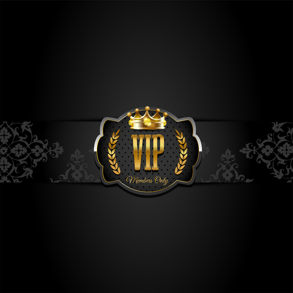 VIP Background Luxury Design Vectors 08 Free Download