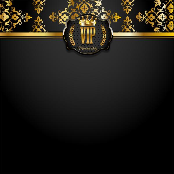 VIP Background Luxury Design Vectors 14 Vector