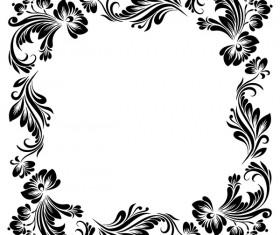Delicate Floral Frames Vector Vector Frames Amp Borders