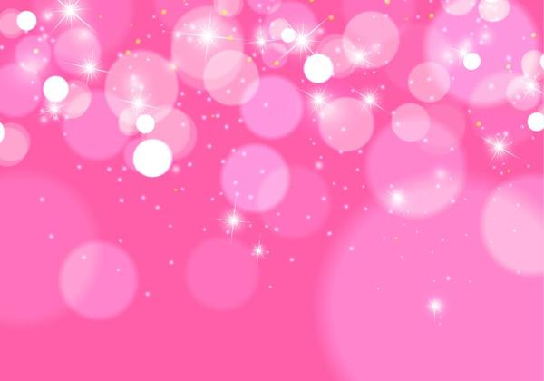 Shiny Pink Bokeh Vector Background Free Download