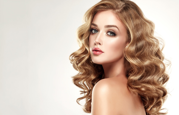Pretty Girl Hairstyle Stock Photo 02 Free Download