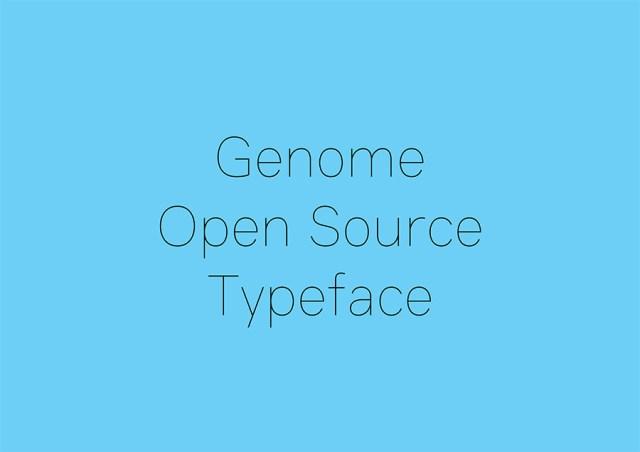 genome-free-font