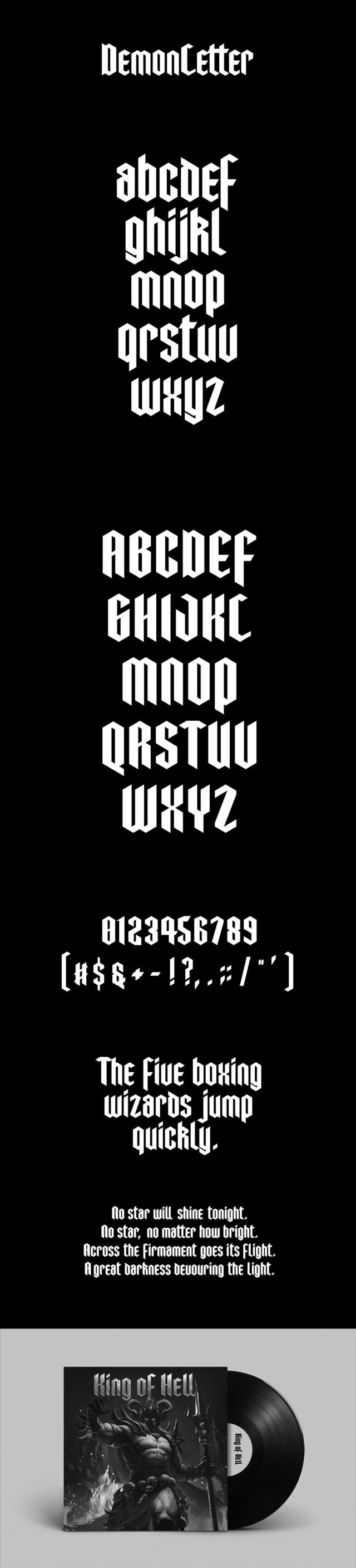 DemonLetter-free-font