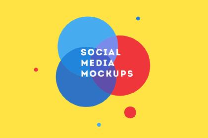 Social Media Free Mockup