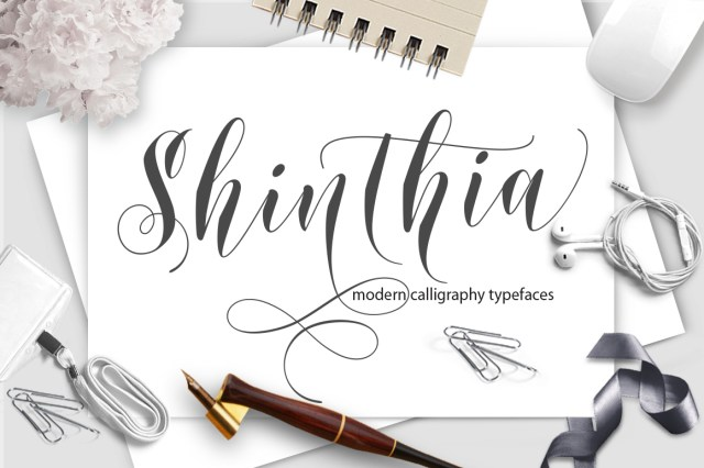 Shinthia Script Free Demo