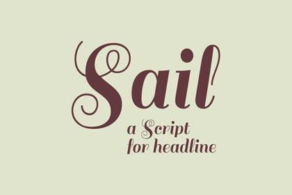 sail-free-font
