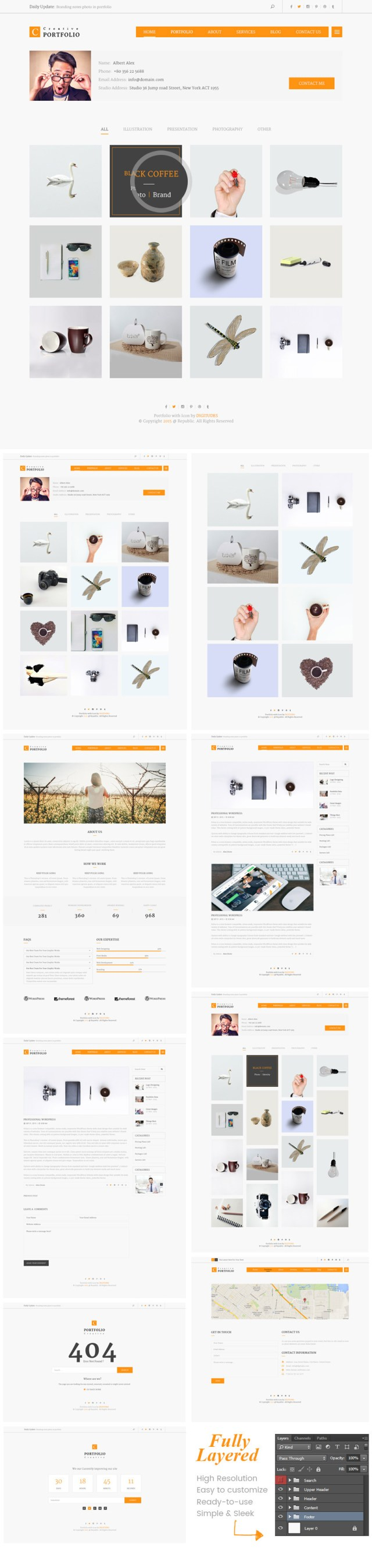Free-Creative-Portfolio-PSD-Template