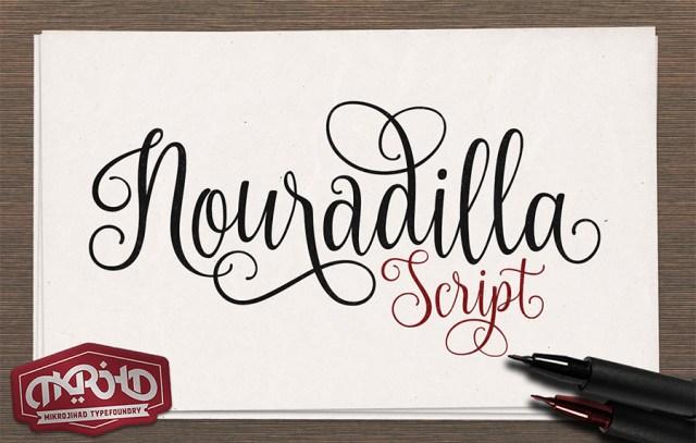 nouradilla-script-free-font
