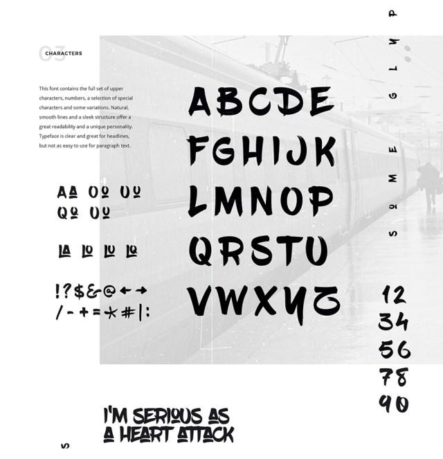 blowbrush_free-font