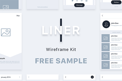 Liner Wireframe Kit