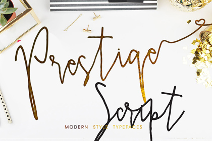prestige-script-free-font