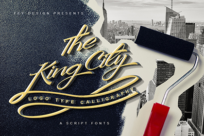The King City Free Font