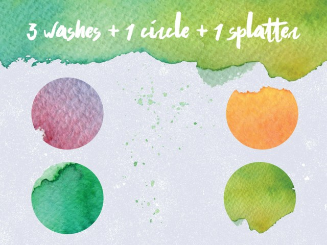 free watercolor brushes illustrator
