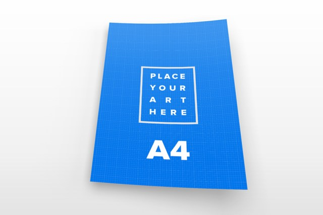 Free A4 Paper Mockups