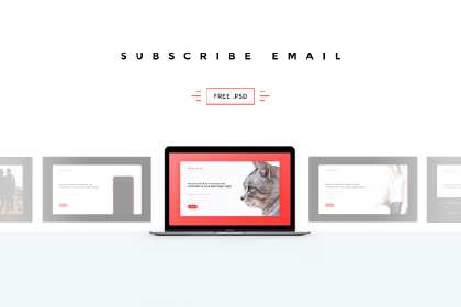 Free Subscribe Email Pages