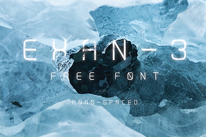 Exan-3 Free Font