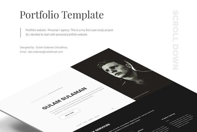 Portfolio Website - Personal & Agency